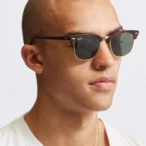 Unisex Ray Ban Clubmaster RB3016 Tortoise G-15